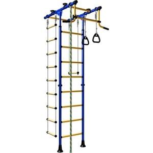 Детский спортивный комплекс Romana Комета-1 ДСКМ-2-8.06.Т.490.01-108 обливные сине/жёлтый aro team 2 в 1 enzo new сине белая