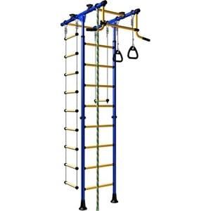 Детский спортивный комплекс Romana Комета-1 ДСКМ-2-8.00.Т.490.01-08 сине/жёлтый (эконом)