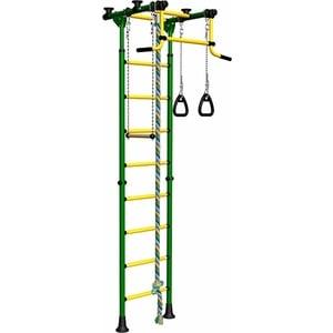 Детский спортивный комплекс Romana Комета-2 ДСКМ-2-8.06.Г.490.01-111 обливные зелёно/жёлтый