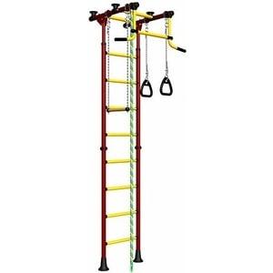 купить Детский спортивный комплекс Romana Комета-2 ДСКМ-2-8.06.Г.490.01-111 обливные красно/жёлтый недорого