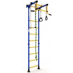 купить Детский спортивный комплекс Romana Комета-2 ДСКМ-2-8.06.Г.490.01-111 обливные сине/жёлтый недорого