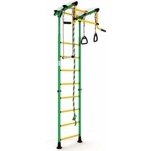 Детский спортивный комплекс Romana Комета-2 ДСКМ-2-8.00.Г.490.01-11 зелёно/жёлтый (эконом)