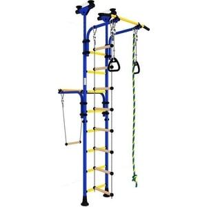 купить Детский спортивный комплекс Romana Олимпиец-1 ДСКМ-2-8.06.Т1.490.01-22 обливные сине/жёлтый недорого