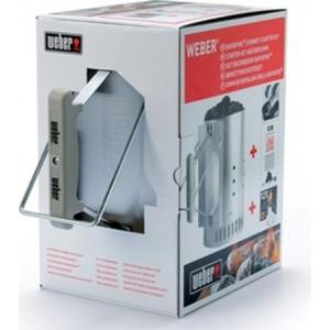 Набор для розжига Weber (стартер, брикеты, кубики для розжига) труба стартер для разжигания угля weber