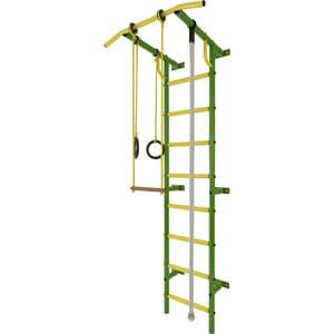 Детский спортивный комплекс Лидер С-02 зелёно/жёлтый