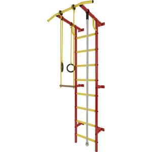 Детский спортивный комплекс Лидер С-03 красно/жёлтый детский спортивный комплекс лидер steller c2 белый серебряный