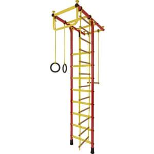 Детский спортивный комплекс Лидер Т-03 красно/жёлтый (2506)