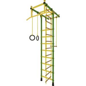 Детский спортивный комплекс Лидер Т-02 зелёно/жёлтый (2611) a2611 hcpl 2611 hp2611