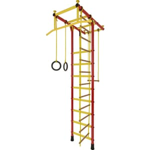 Детский спортивный комплекс Лидер Т-03 красно/жёлтый (2612)