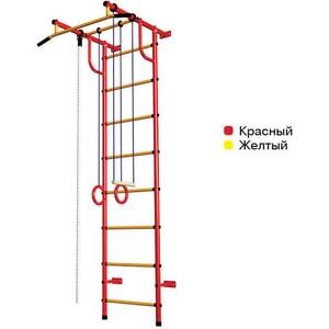 Детский спортивный комплекс Пионер С2НМ красно/желтый