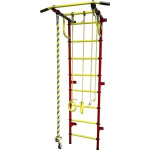 Детский спортивный комплекс Пионер С2Р красно/жёлтый детский спортивный комплекс пионер 8м красно жёлтый
