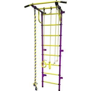 Детский спортивный комплекс Пионер С2Р пурпурно/жёлтый детский спортивный комплекс пионер с4с пурпурно жёлтый