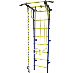 Детский спортивный комплекс Пионер С2РМ сине/жёлтый цены