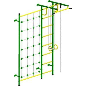 Детский спортивный комплекс Пионер С3С зелёно/жёлтый дск пионер с4см зелёно жёлтый