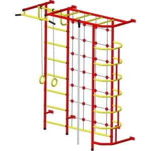 Детский спортивный комплекс Пионер С5С красно/жёлтый детский спортивный комплекс пионер 8м красно жёлтый