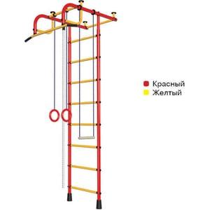 Детский спортивный комплекс Пионер 1М красно/желтый спортивный комплекс пионер 8лм красно желтый
