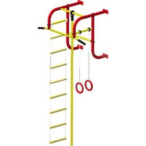 Детский спортивный комплекс Пионер 5 (0503) красно/желтый