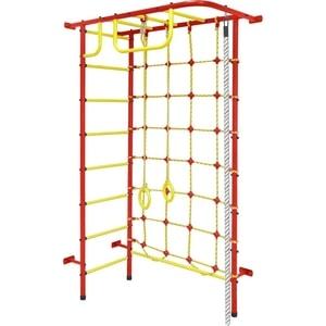 Детский спортивный комплекс Пионер 8 (1261) красно/жёлтый спортивный комплекс пионер с1нм красно желтый