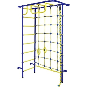 Детский спортивный комплекс Пионер 8 сине/жёлтый (00217) цена