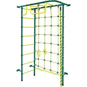 Детский спортивный комплекс Пионер 8М зелёно/жёлтый дск пионер с4см зелёно жёлтый