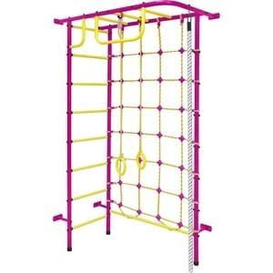 Детский спортивный комплекс Пионер 8М пурпурно/жёлтый детский спортивный комплекс пионер 8м красно жёлтый