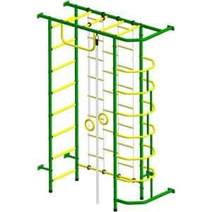 Детский спортивный комплекс Пионер 9ЛМ зелёно/жёлтый детский спортивный комплекс пионер 9лм зелёно жёлтый
