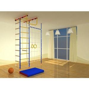 Детский спортивный комплекс Самсон Самсон-1.2 Д Т с сеткой + стойка дерево самсон и далила