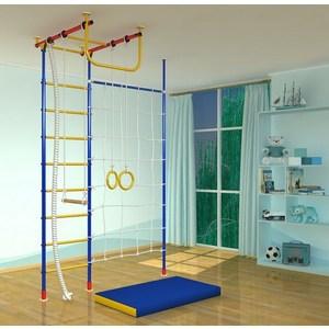 Детский спортивный комплекс Самсон 2.2Д Г с сеткой и стойкой детский спортивный комплекс самсон 431д