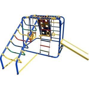 Детский спортивный комплекс Формула здоровья Артек N Плюс синий-радуга спортивный комплекс формула здоровья мечта 1в плюс синий радуга