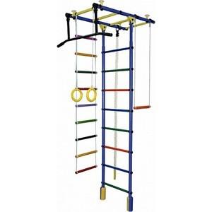 Детский спортивный комплекс Формула здоровья Атлант-1С Плюс синий-радуга