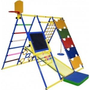 Детский спортивный комплекс Формула здоровья Вершинка W синий-радуга