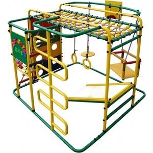 Детский спортивный комплекс Формула здоровья Мурзилка S зелёный-радуга детский спортивный комплекс формула здоровья аистенок 2а плюс красный радуга