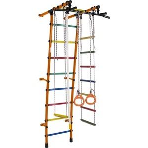 Детский спортивный комплекс Формула здоровья Стелла-1С Плюс оранжевый-радуга детский спортивный комплекс формула здоровья атлант 1с плюс синий радуга