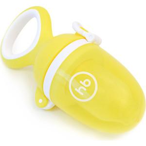 Ниблер с силиконовой сеточкой Happy Baby Nibbler twist (15035 yellow)