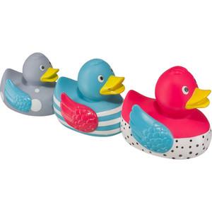 Набор ПВХ-игрушек для ванной Happy Baby Funny ducks (32026) каталог funny ducks kids tv
