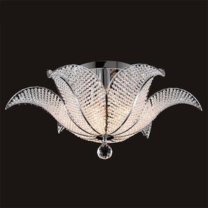 Потолочный светильник Eurosvet 10051/6 хром/прозрачный хрусталь Strotskis