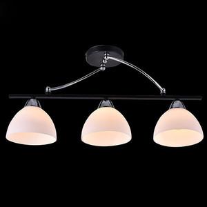 Потолочная люстра Eurosvet 30101/3 хром/венге потолочный светильник eurosvet 2870 3 хром венге