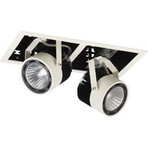 Точечный светильник Donolux DL18601/02WW-SQ вставка impronta ceramiche scrapwood fire tozzetto sq 5x15