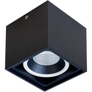 Потолочный светильник Donolux DL18415/11WW-SQ Black/White Dim потолочный светильник donolux dl18416 11ww r black white