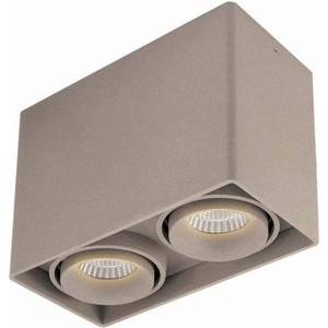 Потолочный светильник Donolux DL18610/02WW-SQ Champagne вставка impronta ceramiche scrapwood fire tozzetto sq 5x15