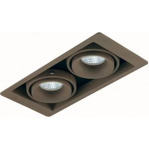 Точечный светильник Donolux DL18615/02WW-SQ Champagne/Black точечный светильник donolux dl18614 02ww sq alu black