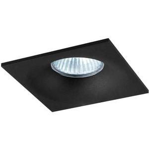 Точечный светильник Donolux DL18413/11WW-SQ Black вставка impronta ceramiche scrapwood fire tozzetto sq 5x15