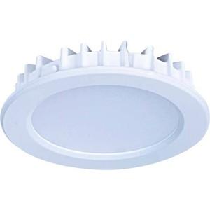 Точечный светильник Donolux DL18454/3000-White R карниз для ванной primanova 220 см белый