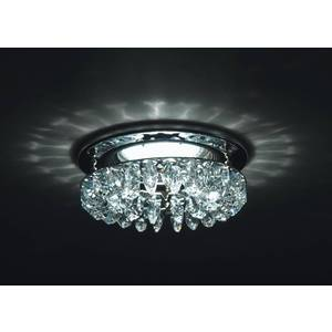 Точечный светильник Donolux DL102/CH-AsfourC встраиваемый светильник sn1517 pc ch donolux 1170223