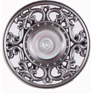 Точечный светильник Donolux N1565-Antique silver equte bpew42c1 stylish zinc alloy adjustable bracelet for women antique silver