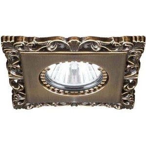 все цены на Точечный светильник Donolux N1563-Light bronze