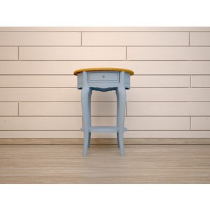 Стол кофейный Etagerca Leontina 1 ящ ST9331ETG/B