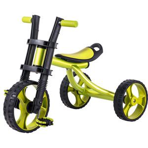 Детский трехколёсный велосипед Vip Lex VipLex 706B (зеленый) детский беговел vip lex viplex 706 оранжевый