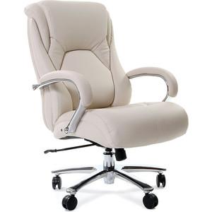 Офисное кресло Chairman 402 PU белое офисное кресло chairman 403 кожа pu черное