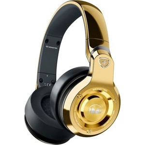 Наушники Monster 24K DJ Over-Ear gold (128585-00) охватывающие наушники monster 24k dj over ear headphones
